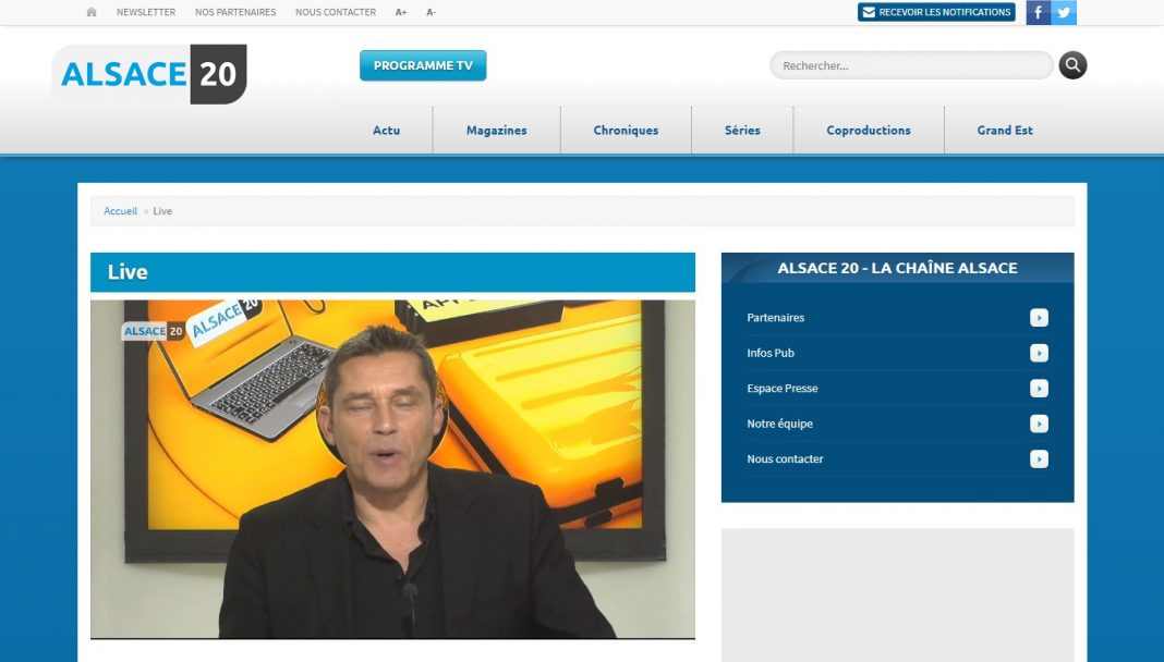 TV Alsace 20 en direct